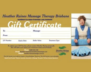 Massage South Brisbane By Heather Raines Massage